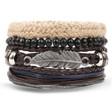 Load image into Gallery viewer, IFMIA Retro Leather Totem Bracelet for Men - 15 Designs to Choose