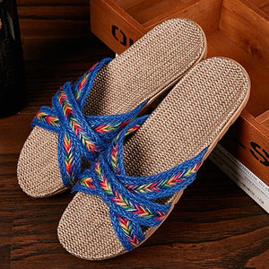 LCIZRONG   Women's Casual Soft Beach Sandals Made with Natural Fibers