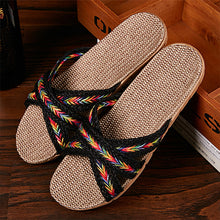 Load image into Gallery viewer, LCIZRONG   Women's Casual Soft Beach Sandals Made with Natural Fibers