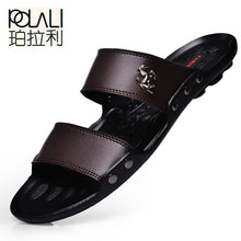 Load image into Gallery viewer, POLALI   Men's Designer Casual Summer/Beach Sandals