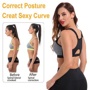 Women's Maximum Support Push-up Athletic Workout Top