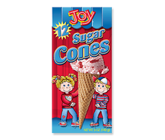 Joy - Sugar Ice Cream Cones pk/12