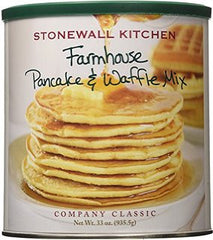 Stonewall Kitchen Farm House Pancake and Waffle Mix 33oz