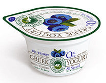 Green Mountain - Greek Yogurt - Blueberry, fruit on the bottom - 6 oz.