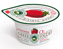 Green Mountain - Greek Yogurt - Strawberry, fruit on the bottom - 6 oz.