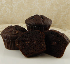 Double Chocolate Muffins- 4 Pack