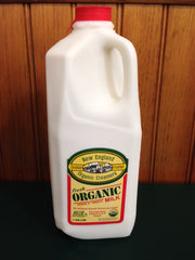 Shaw Farm - Organic Whole Milk, half-gallon plastic