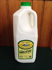 Shaw Farm - Organic 2% Milk, half-gallon