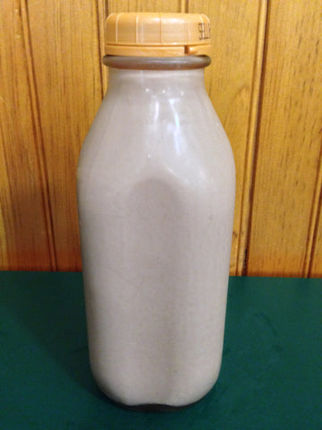 Shaw Farm - Chocolate Milk, quart returnable bottle