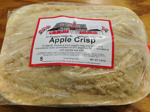 Mann's Orchard - Apple Crisp - 2 lb