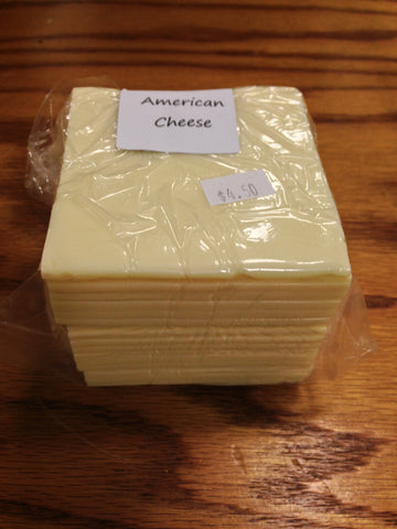 Shaw Farm - American Cheese, sliced, 1 lb