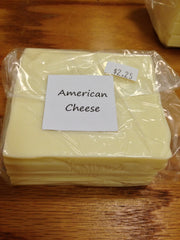 Shaw Farm - American Cheese, sliced, 1/2 lb
