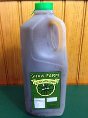 Shaw Farm - Ice Tea with Lemon 1/2 Gallon