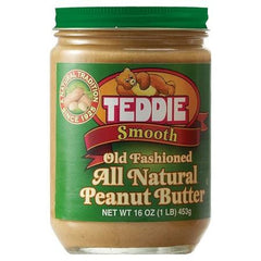 Teddie All Natural Creamy Peanut Butter Smooth