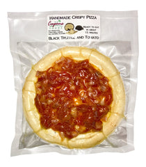 Capone Foods- Black Truffle and Tomato Pizza