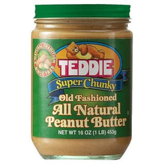 Teddie All Natural Peanut Butter Chunky