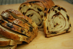 Jessica's Brick Oven - Cinnamon Raisin Bread