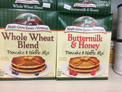 Maple Grove Farms of Vermont Buttermilk and Honey Pancake and Waffle Mix