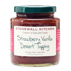 Strawberry Vanilla Dessert Topping