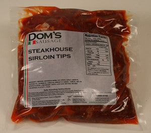 Dom's -  Steak House Style Beef Tips