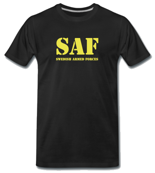 S.A.F Swedish Armed Forces Funktions T-Shirt