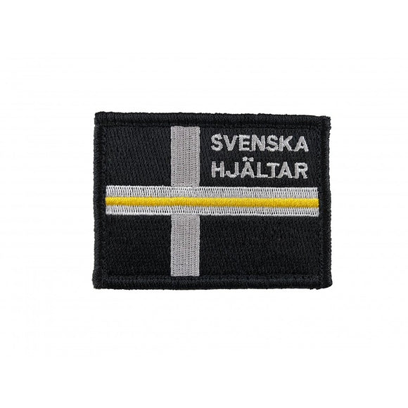 Thin Yellow Line Patch - Svenska Hjältar AB