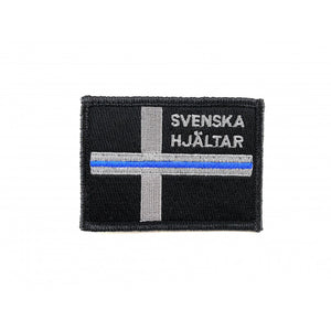 Thin Blue Line Patch - Svenska Hjältar AB