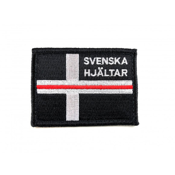 Thin Red Line Patch - Svenska Hjältar AB