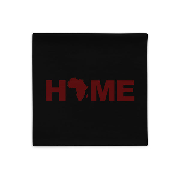 Africa Home Pillow Cases (Black)