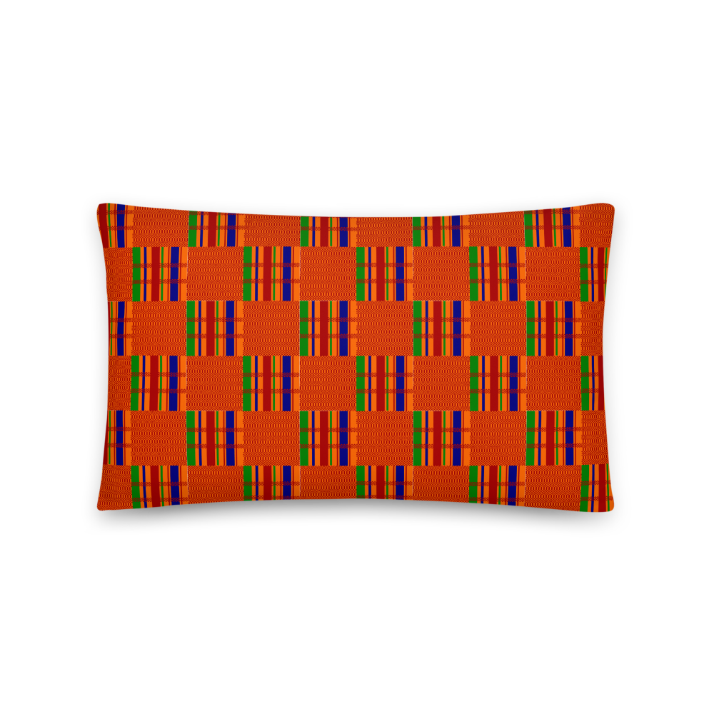Kente Cloth Decorative Pillows and Cases