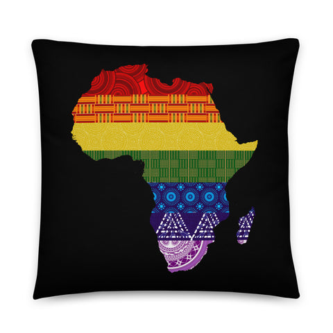 LGBTQ Pride with African Fabrics Decorative Pillows and Cases
