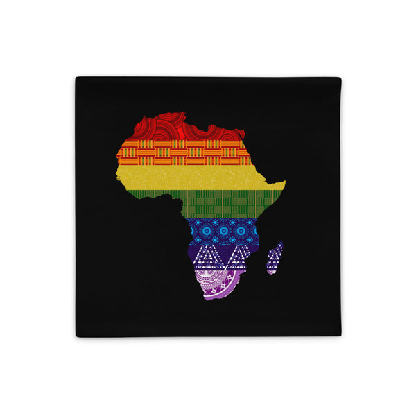 LGBTQ Pride with African Fabrics Pillow Cases