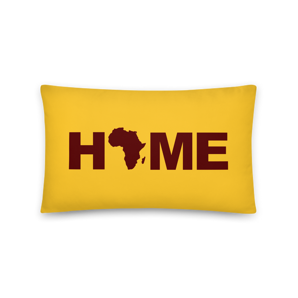 Africa Home Decorative Pillows and Cases (Mustard Yellow)