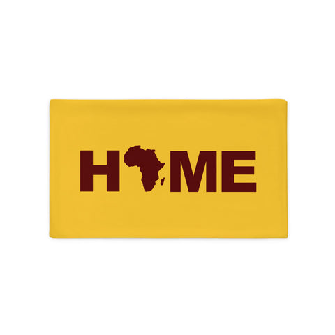 Africa Home Pillow Cases (Mustard Yellow)