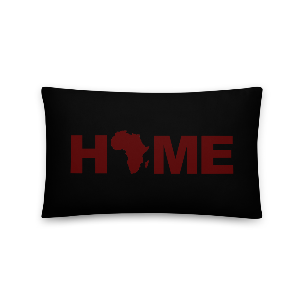 Africa Home Decorative Pillows and Cases (Black)