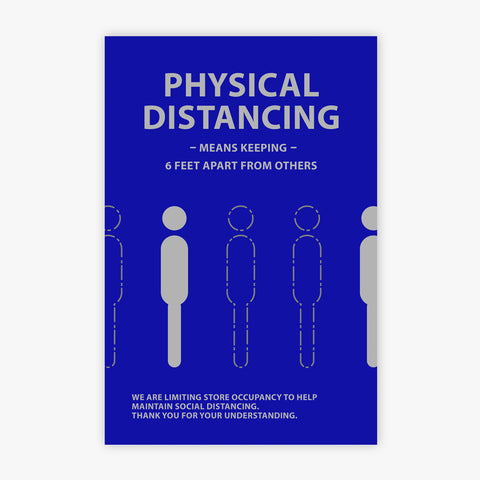 Physical Distancing: Sign