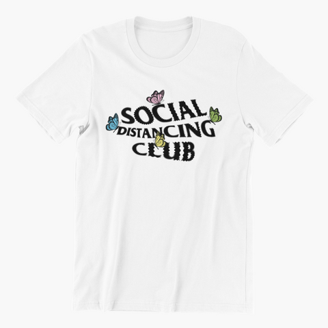 Social Distancing Club Butterfly
