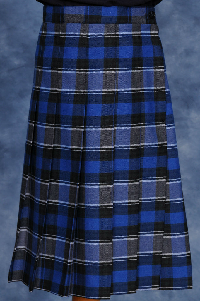 Kids Knife Pleated Skirt Plaid #522
