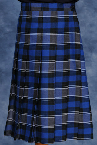Plaid #522 Elementary Knife Pleated Skirt