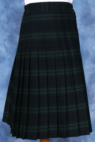 Elementary Plaid #120 Knife Pleated Skirt