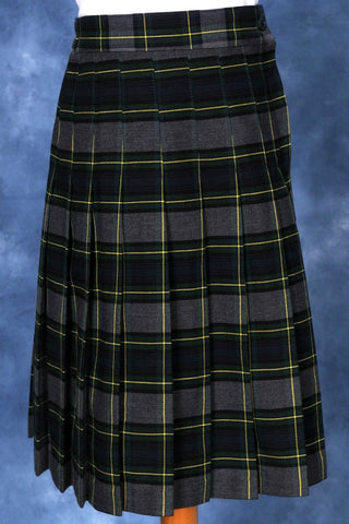 Elementary Plaid #111-1 Knife Pleated Skirt