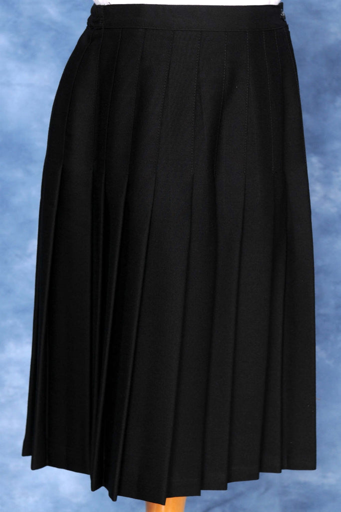 "Special Long Navy Skirt with ELASTIC in back, Ankle Length (30"" and 33"")"