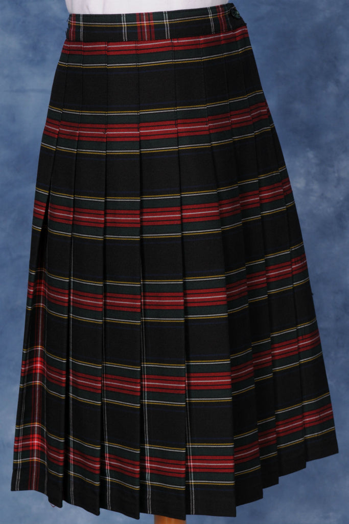 Elementary Plaid #140 Knife Pleated Skirt