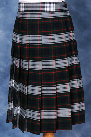 Elementary Plaid #520 Knife Pleated Skirt