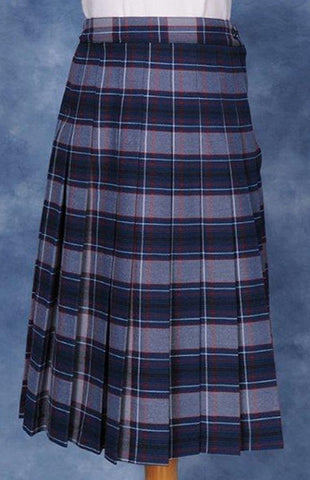 Kids Knife Pleated Skirt Plaid #5232