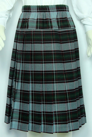 Elementary Plaid #523-1 Yoke Pleated Skirt