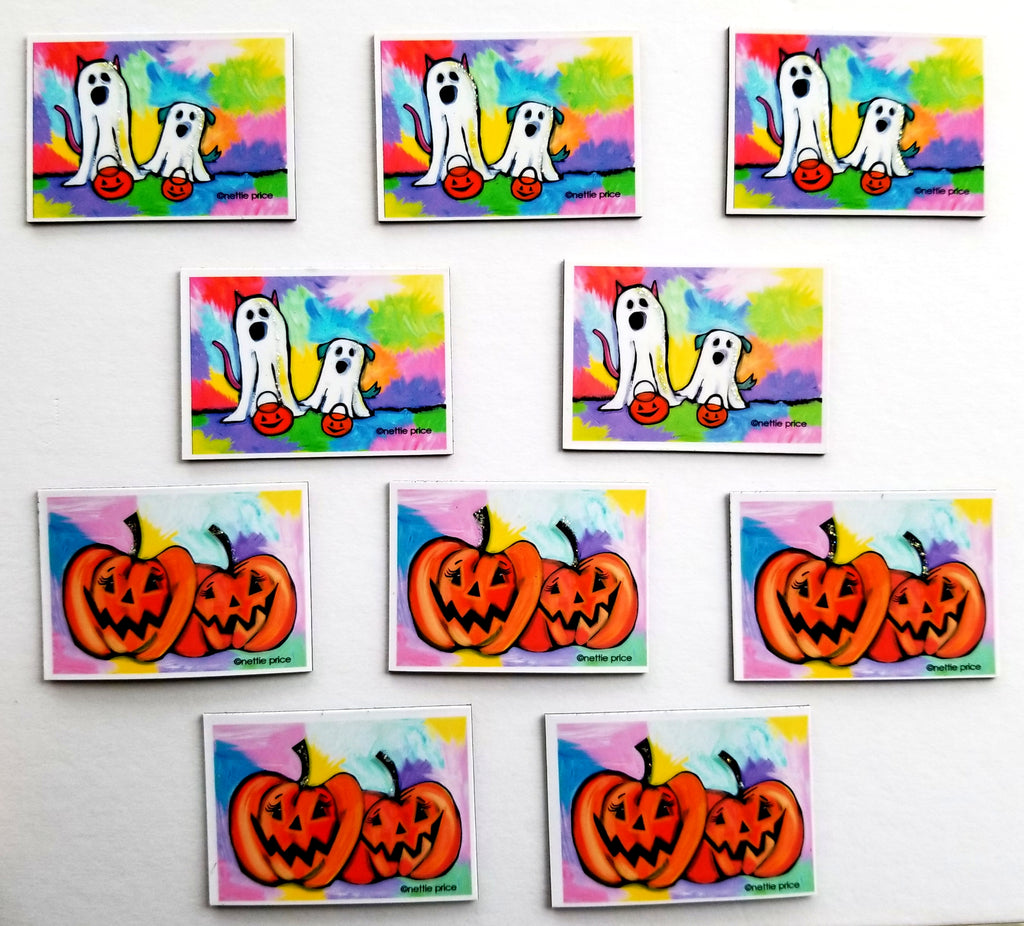 Halloween Sparkling Mini Magnet Collection