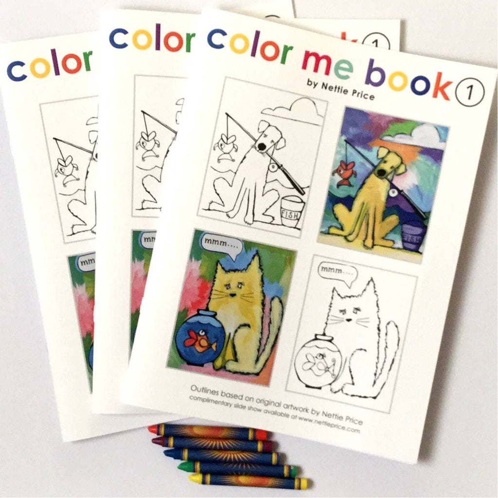 Color Me Book 1 Coloring Book Pack of 3