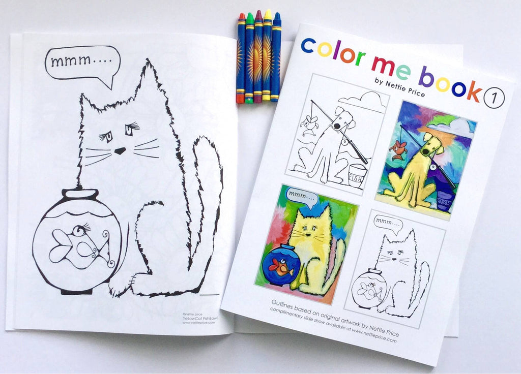 Color Me Book 1 Coloring Book