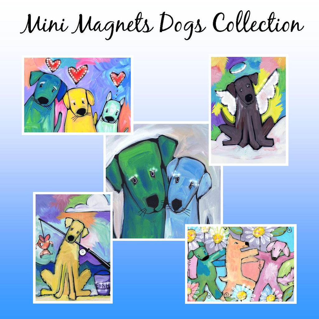 Mini Magnet Dog Collection
